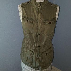 Max Jeans Utility Jacket Size M